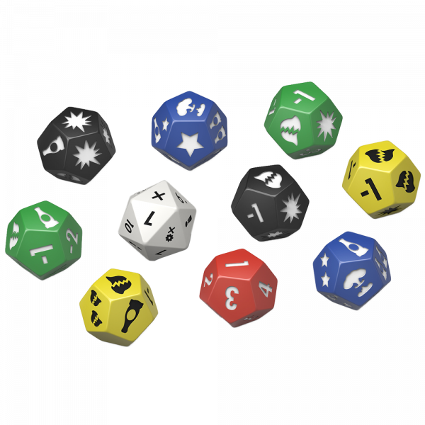 FALLOUT WASTELAND WARFARE - EXTRA DICE SET