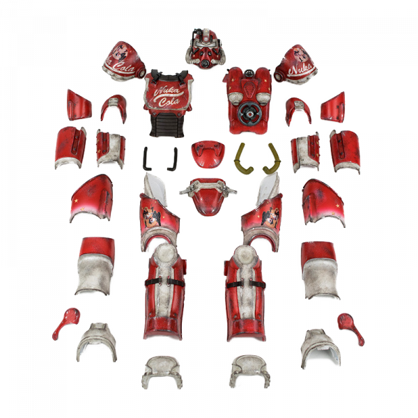 FALLOUT 4 T-51 POWER ARMOR - NUKA COLA ARMOR PACK 1