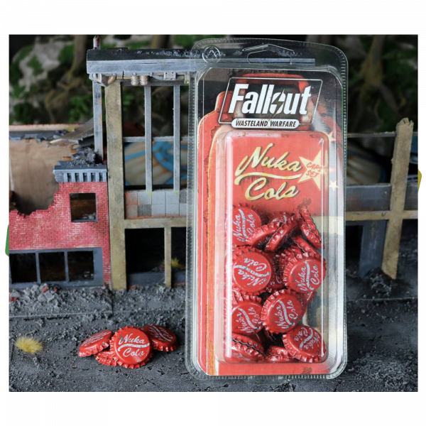 FALLOUT WASTELAND WARFARE - NUKA COLA CAPS SET
