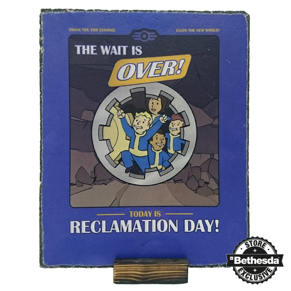 FALLOUT STONE SLAB RECLAMATION DAY