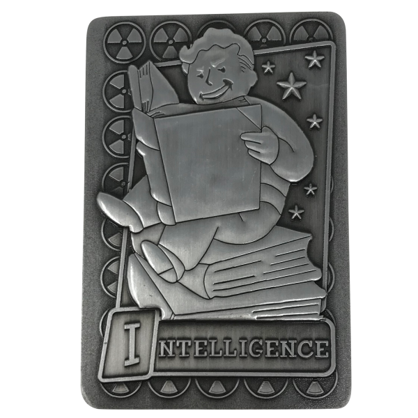 FALLOUT COLLECTIBLE PERK CARD INTELLIGENCE