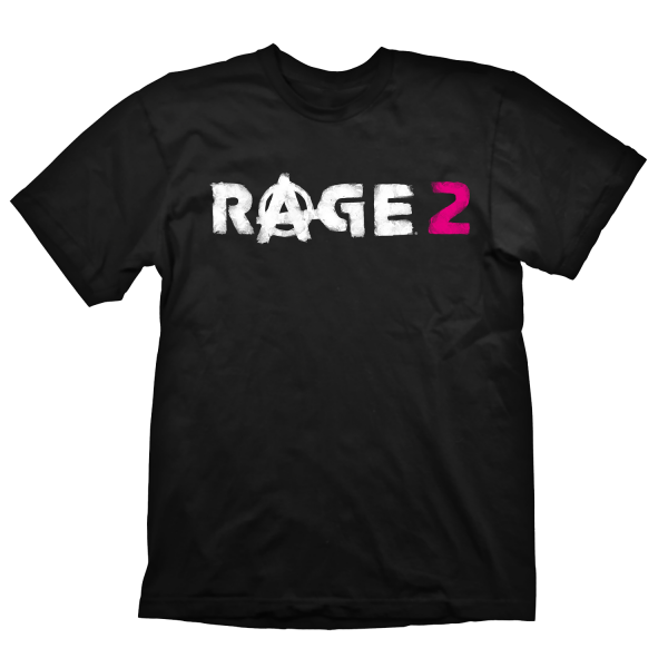 RAGE 2 T-SHIRT LOGO BLACK
