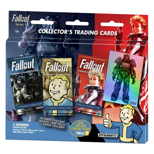FALLOUT TRADING CARDS SERIES 1 3-PACK