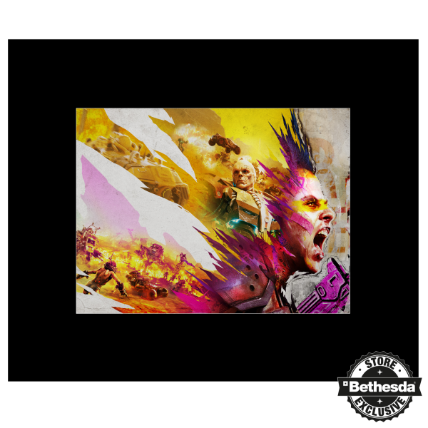 RAGE 2 ARTPRINT SCREAMING