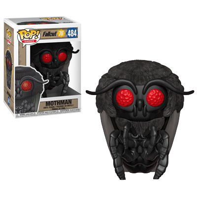 FALLOUT 76 FIGURE MOTHMAN POP VINYL