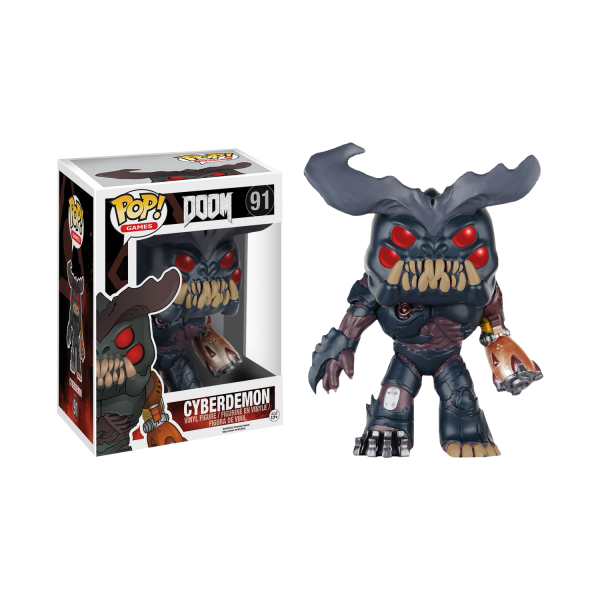 Doom Figure Cyberdemon POP Vinyl 14cm