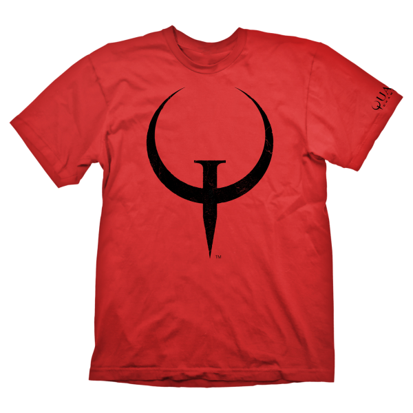 Quake Champions T-Shirt Logo Red