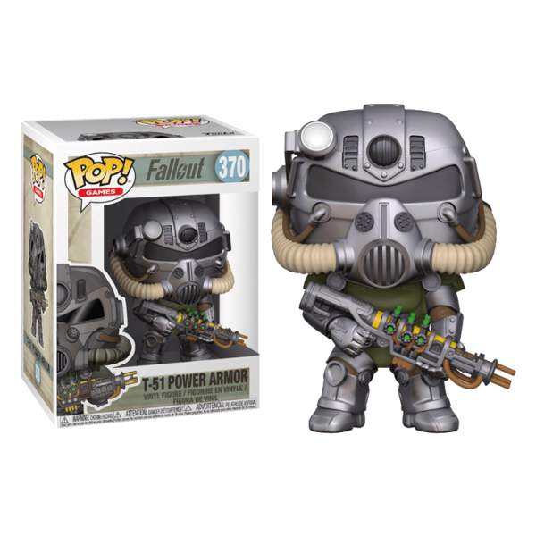 FALLOUT FIGURE T-51B POWER ARMOR POP VINYL