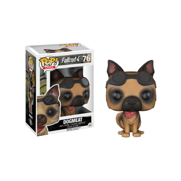 Fallout Figure Dogmeat POP Vinyl