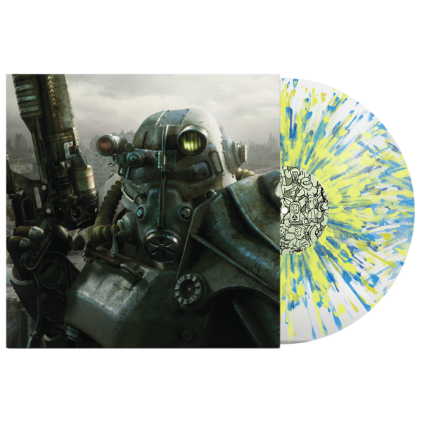 FALLOUT 3 OST VINYL COVER