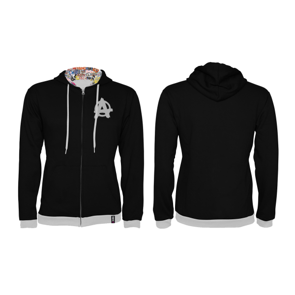 RAGE 2 ZIP-UP HOODIE GOON GRAFFITI