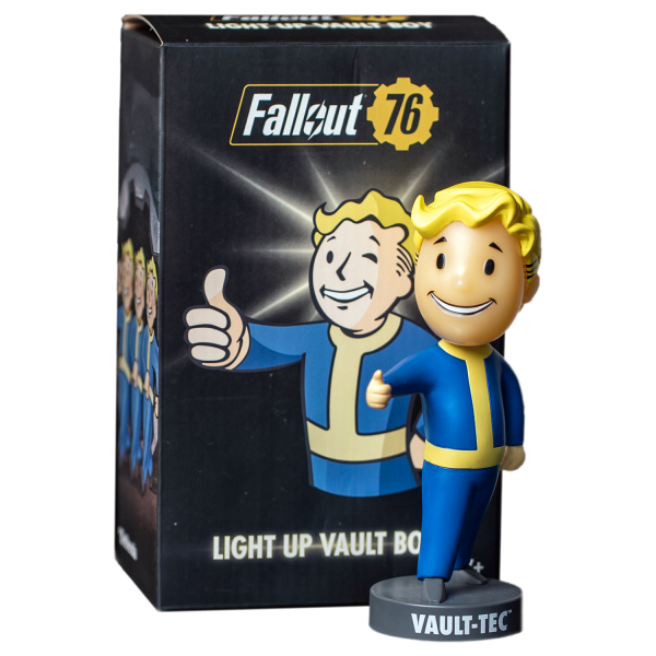 FALLOUT LAMP LIGHT UP VAULT BOY
