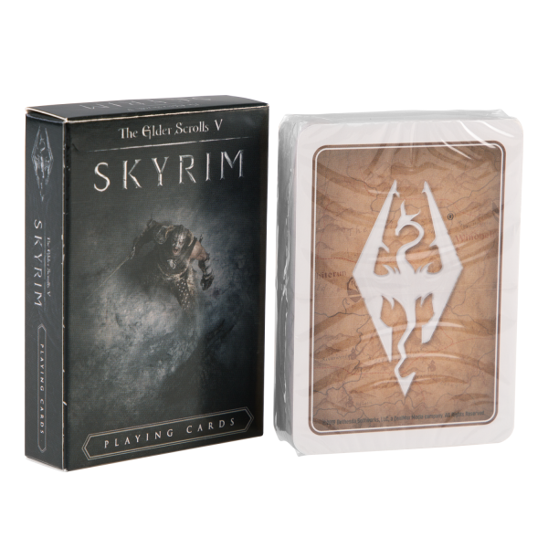 THE ELDER SCROLLS V SKYRIM PLAYING CARDS