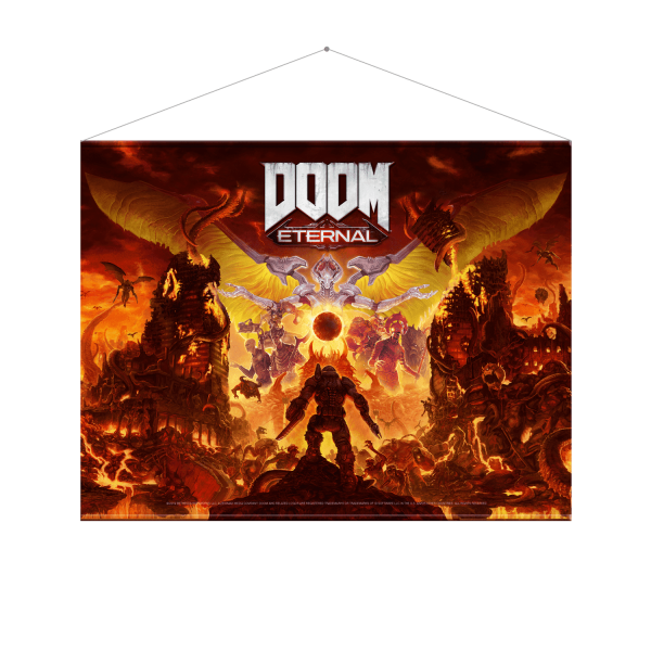 "DOOM Wallscroll ""Makyr"""