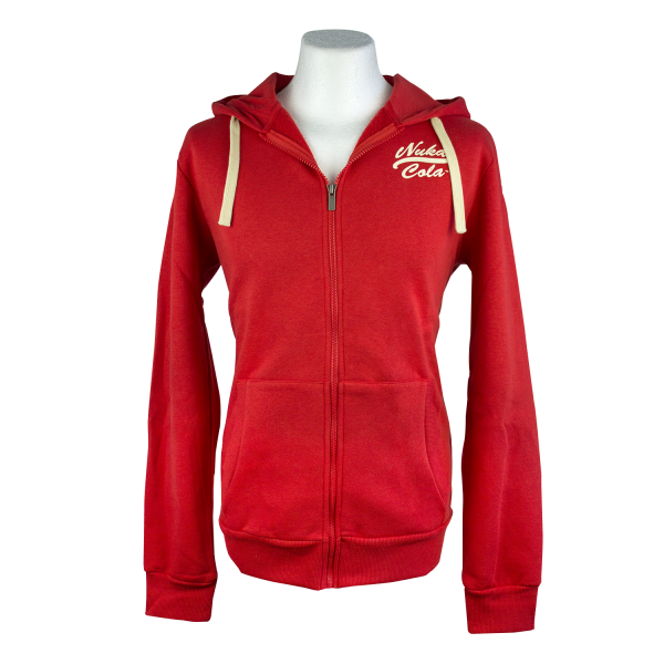 Fallout Zip-Up Hoodie Nuka Cola Pin-Up 1