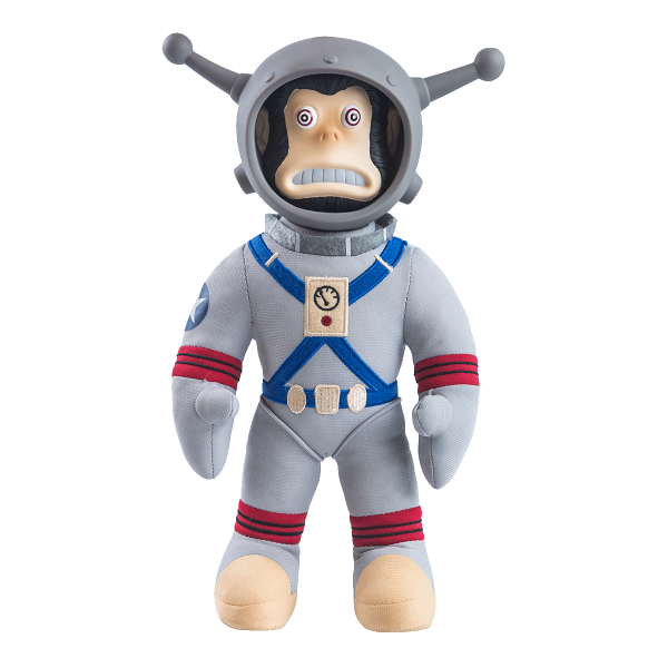 "Fallout 76 Plush ""Jangles the Moon Monkey"""
