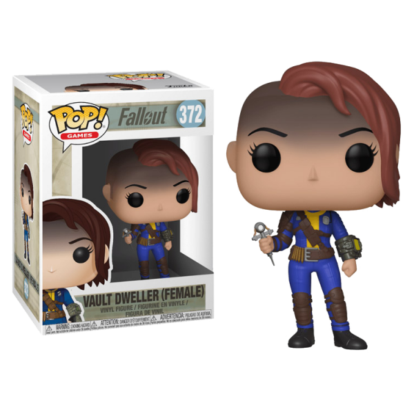 FALLOUT FIGURE VAULT DWELLER FEMALE POP VINYL