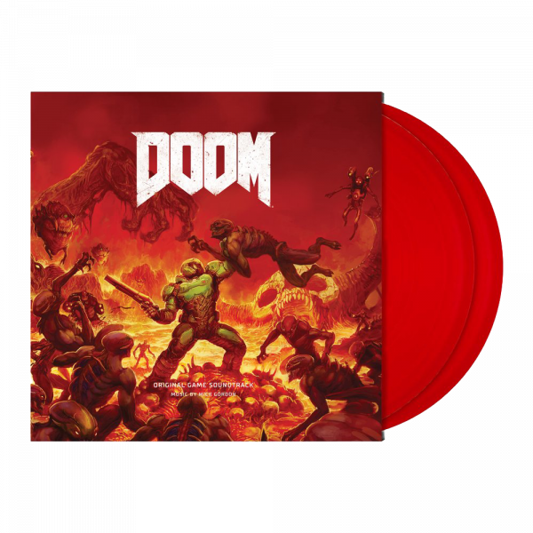 DOOM OST DELUXE DOUBLE VINYL
