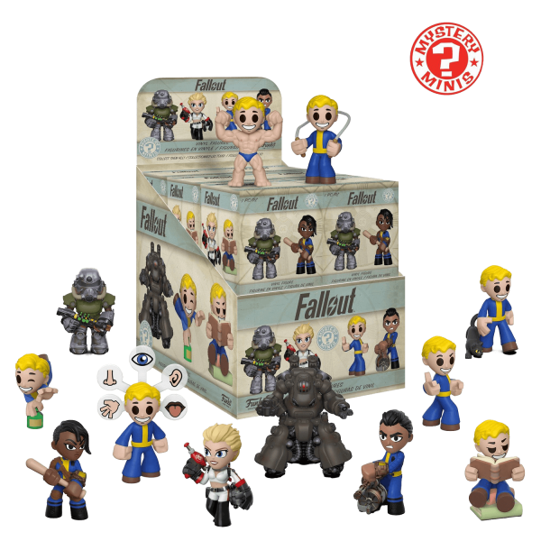 FALLOUT FIGURE MYSTERY MINIS SERIES 2 BLIND BOX