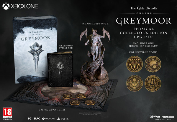 THE ELDER SCROLLS ONLINE GREYMOOR COLLECTORS EDITION EN XBOX
