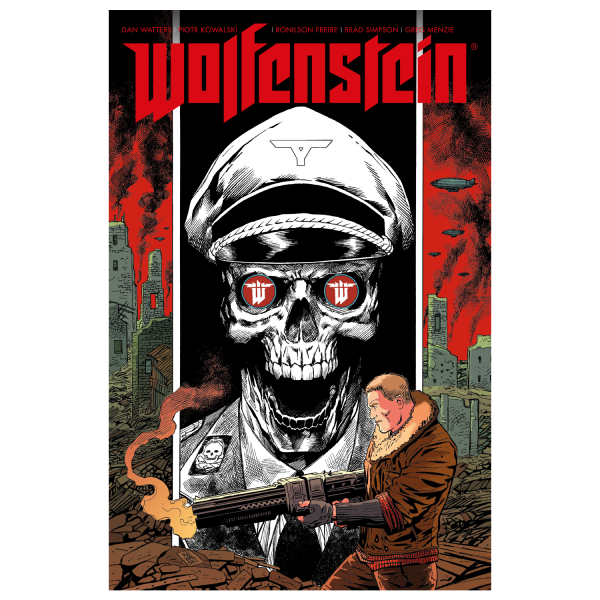 WOLFENSTEIN GRAPHIC NOVEL THE DEEP