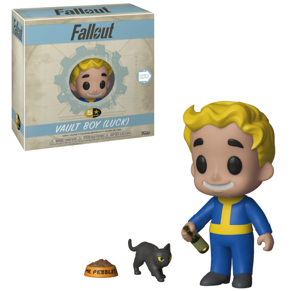 FALLOUT FIGURE VAULT BOY LUCK FUNKO 5 STAR