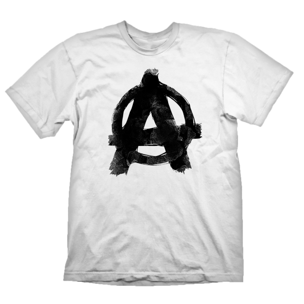 RAGE 2 T-SHIRT ANARCHY WHITE