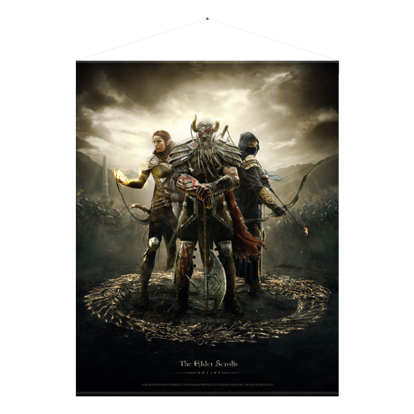 The Elder Scrolls Online Wallscroll Legends