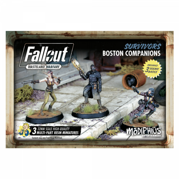 FALLOUT WASTELAND WARFARE - BOSTON COMPANIONS
