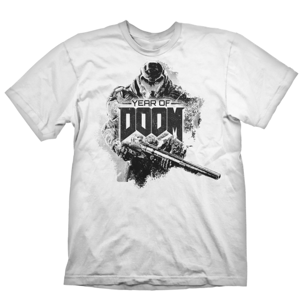 DOOM ETERNAL T-SHIRT SLAYER STENCIL