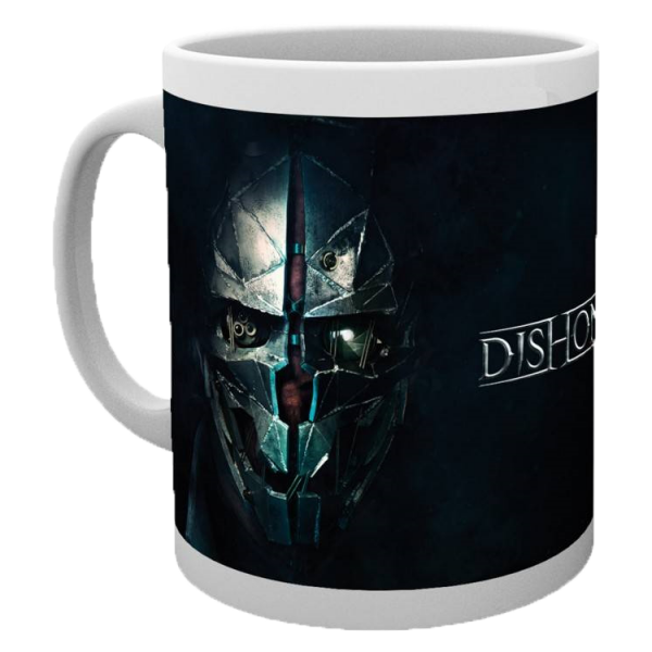DISHONORED MUG FACES