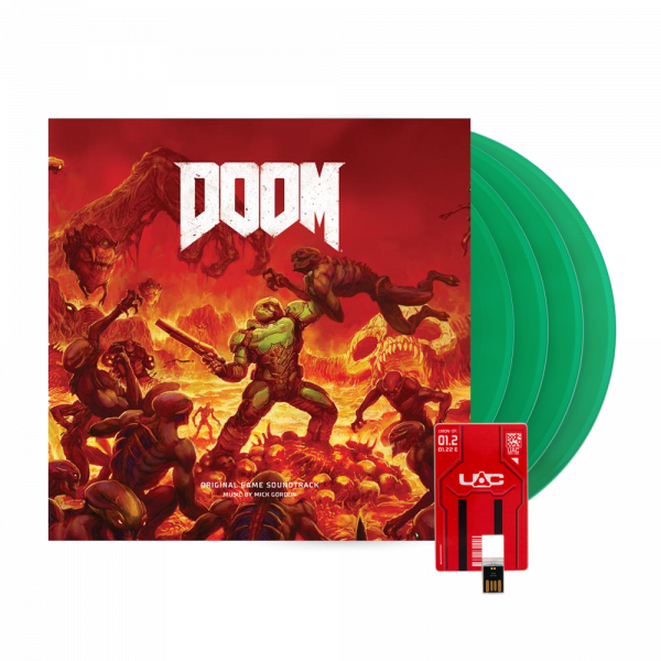 DOOM OST SLAYERS EDITION 4X VINYL BOXSET
