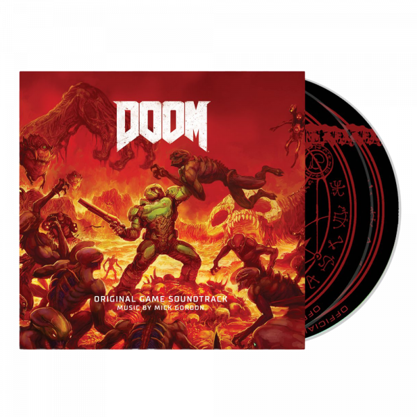 DOOM OST DOUBLE CD