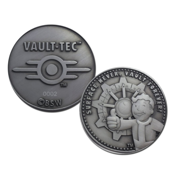 FALLOUT COLLECTIBLE COIN VAULT FOREVER