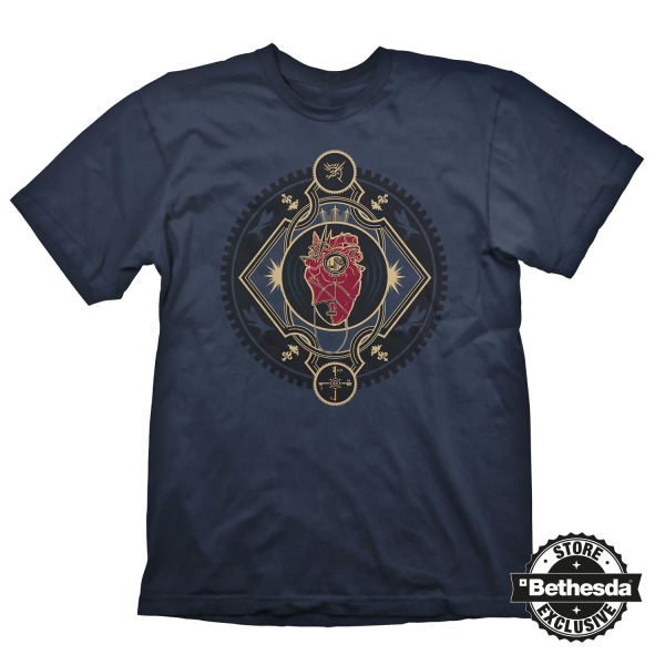 DISHONORED 2 T-SHIRT HEART