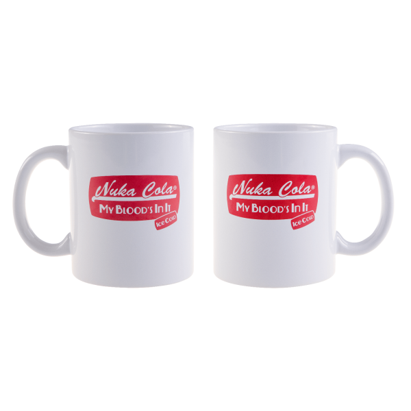 "Fallout Mug ""Nuka Cola Ice Cold"" White"