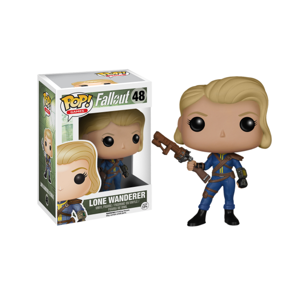 Fallout Figure Lone Wanderer Female POP Vinyl