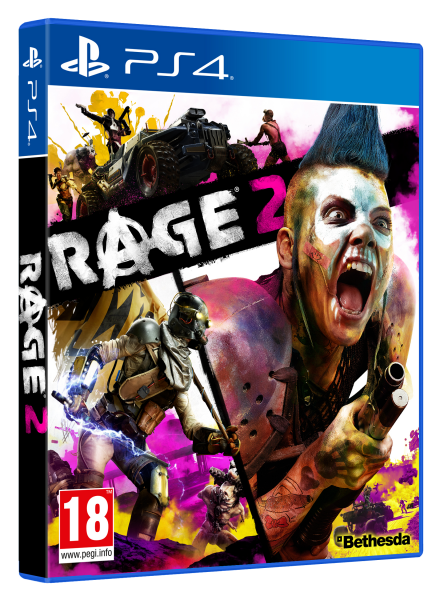 RAGE 2 STANDARD EDITION PS4