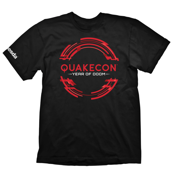 QUAKE QUAKECON 2019 T-SHIRT CIRCLE