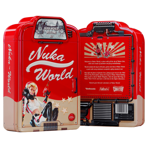 FALLOUT REPLICA NUKA WORLD WELCOME KIT