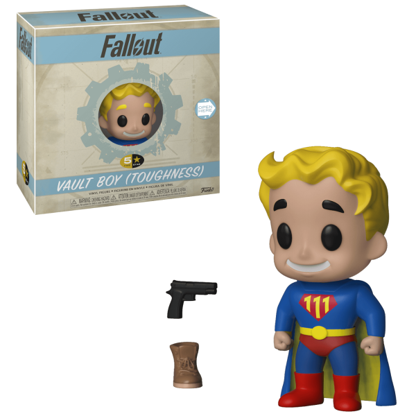 FALLOUT FIGURE VAULT BOY TOUGHNESS FUNKO 5 STAR