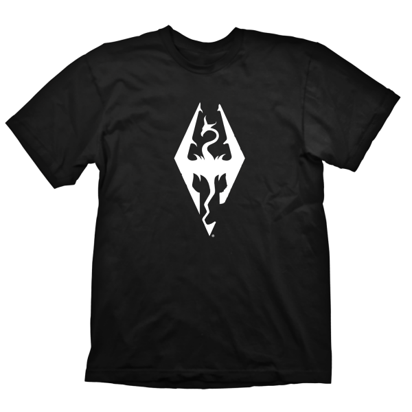 Skyrim T-Shirt Dragon Symbol