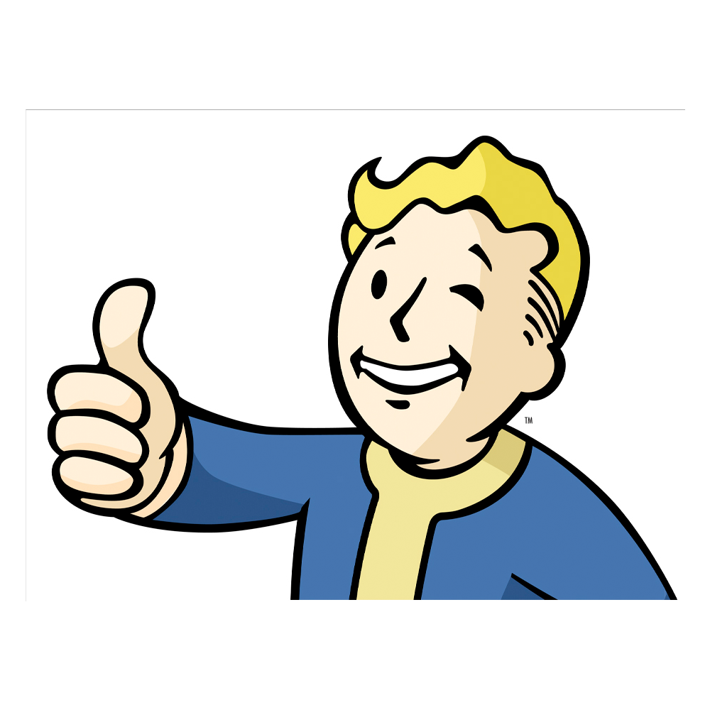 FALLOUT_4_CAR_DECAL_THUMBS_UP_VAULT_BOY_