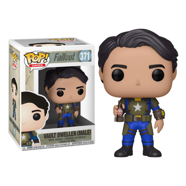 FALLOUT FIGURE VAULT DWELLER MALE POP VINYL