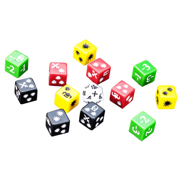 THE ELDER SCROLLS BOARD GAME CALL TO ARMS DICE SET