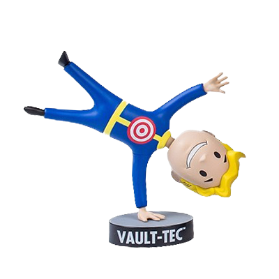 FALLOUT 4 BOBBLEHEAD SERIES 4 MOVING TARGET