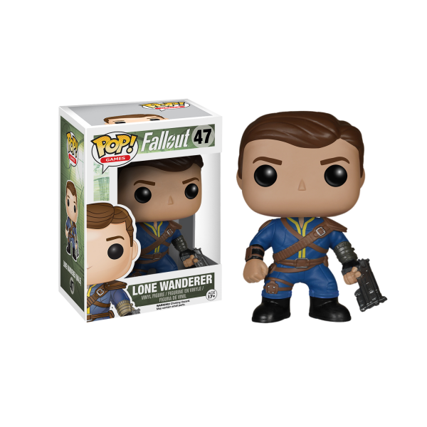 Fallout Figure Lone Wanderer Male POP Vinyl