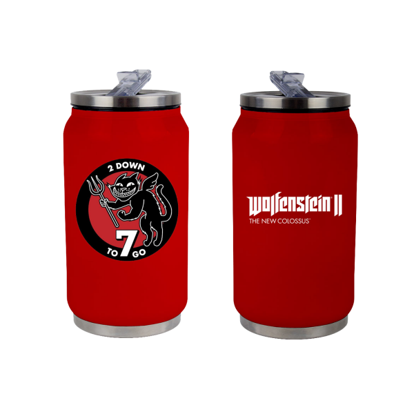 WOLFENSTEIN 2 METAL CAN 7 TO GO