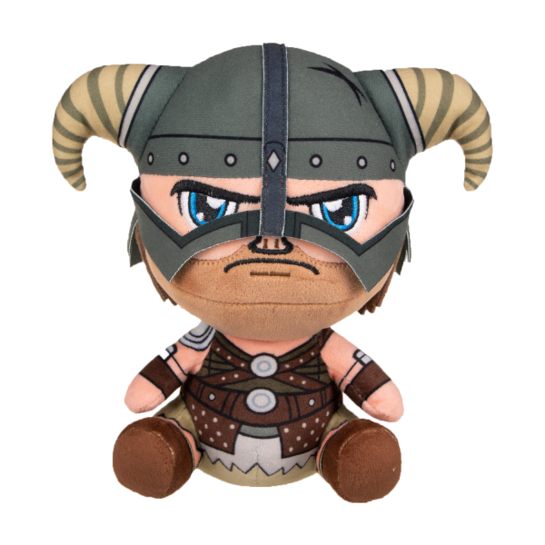 THE ELDER SCROLLS V SKYRIM PLUSH DRAGONBORN STUBBINS