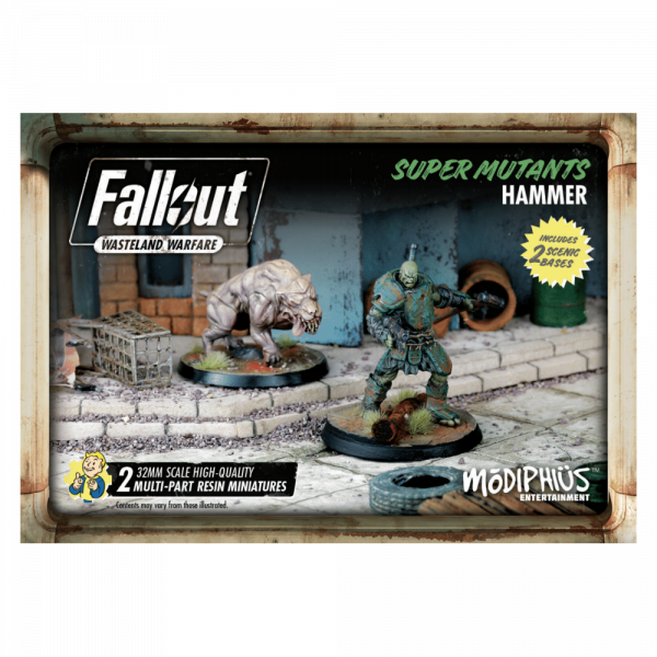 FALLOUT WASTELAND WARFARE - SUPER MUTANTS HAMMER BOX